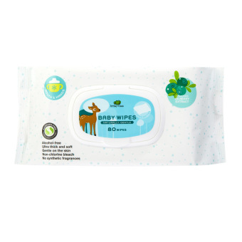 Little Tree Baby Wipes (MOUTH & HANDS) 80 WIPES Price Philippines