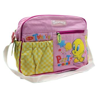 Looney Tunes Large Nursery Bag Set (Pink)