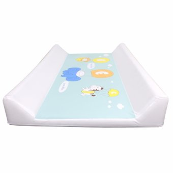 Lovely Kids Happy Day Baby Diaper Changing Pad Bath Mat (White) - 2