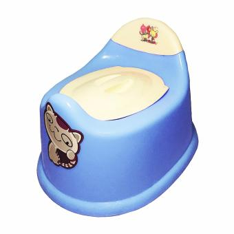 Lovely Kitten Design Potty Chair for Baby Toilet Training (Blue)