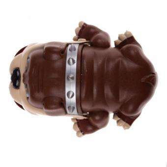 Lucky Dog Bulldog Mouth Dentist Bite Finger Game Funny Toy Gift(Brown) - 5