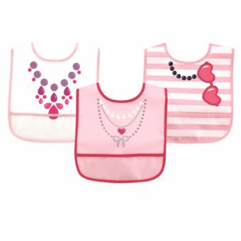 Luvable Friends 3 Piece Waterproof Bibs Necklaces