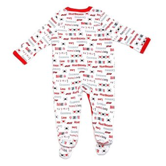 Luvable Friends Romper (Red)
