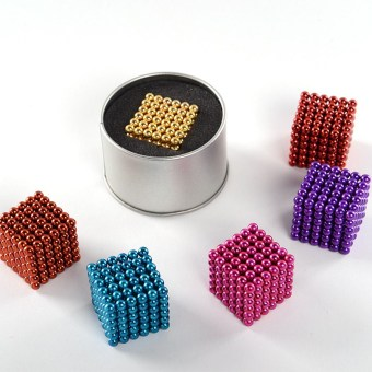 Magic 5mm216 beads magnet toys cube puzzle toy magnetic ball Bakeqiu