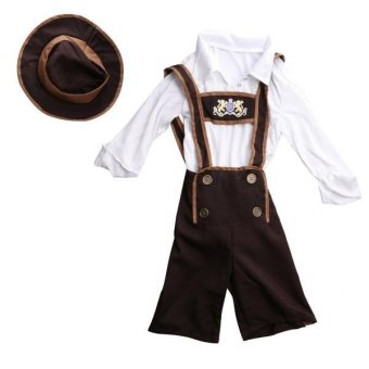 MagiDeal Fun Costumes baby-boys Little Boys' Toddler Lederhosen Boy Costume M - intl Price Philippines