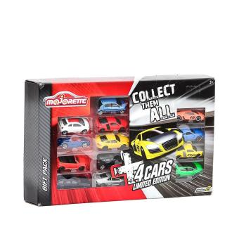 Majorette 4 Cars Limited Edition Series 2 Gift Pack - 2