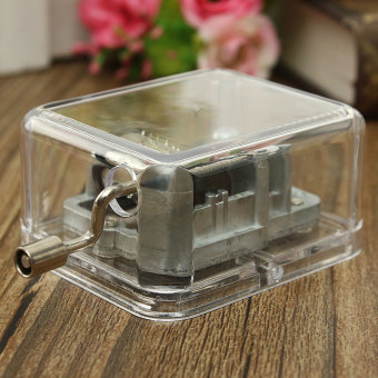 Many Songs Antique Sewing Machine Mechanical Music Musical BoxValentine Gift (Intl) (Intl) - 4