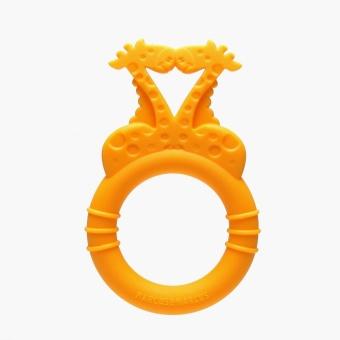 Marcus & Marcus Giraffe Silicone Teether Ring