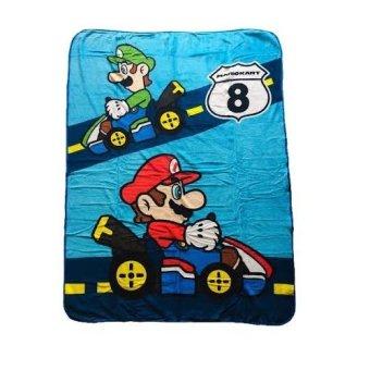 Mario Kart Micro Raschel Throw Blanket 46