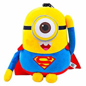 Minion Superhero Costume Cosplay Stuffed Toy 6 Piece Bundle (BatmanSuperman Spiderman Ironman Thor Captain America) - 4