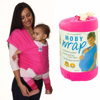 Moby Wrap Baby Carrier Sling Eco Cub Infant Newborn Carrier