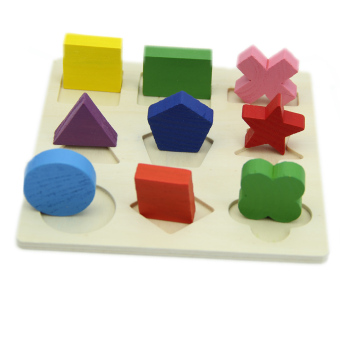 Montessori Early Wooden Educational Learning Toy (Intl) - picture 2