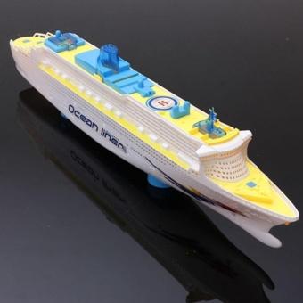 Moonar Ocean Liner Cruise Boat Electric Toy Flashing LED Light - intl - 3