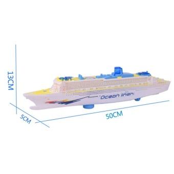 Moonar Ocean Liner Cruise Boat Electric Toy Flashing LED Light - intl - 4