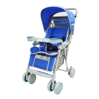 MoonBaby MB-307CHAIR Baby Stroller (Blue)