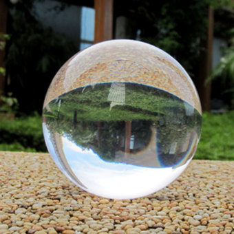 Moshu8000 performance crystal ball transparent crystal ball