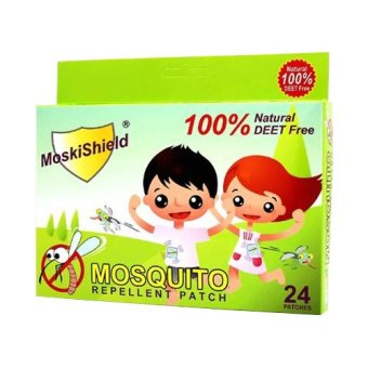 Moskishield Mosquito Repellant Patch Box of 24