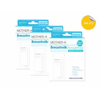 Mother K Breastmilk Storage Bags 300ml (Pack of 3) Price Philippines