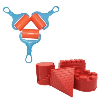Motion Sand Castle Moulds and Sand Rollers