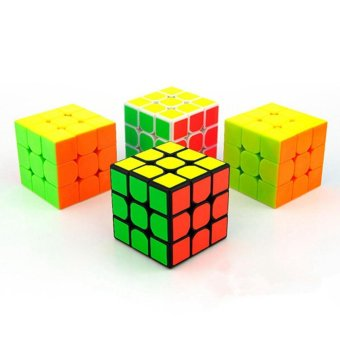 MoYu Cubing Classroom MoFangJiaoShi MF3RS 3x3 Speed Magic Cube Puzzle Brain Teasers, Bright Stickerless - intl - 5