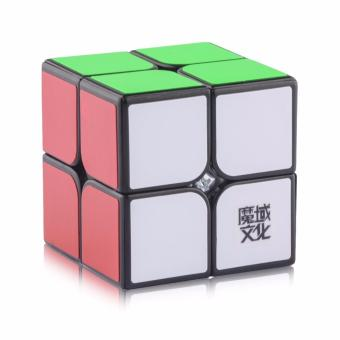 MoYu Lingpo Magic Cube Rubik's Cube Brain Teasers Speed 2x2 PuzzlesBlack Body YJ8208