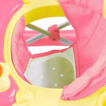 Musical 8-Wheeled Baby Walker (Pink) - 4
