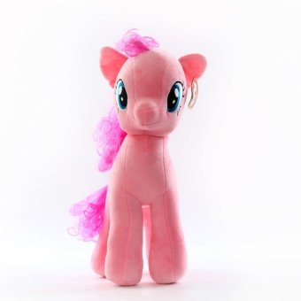 My Little Pony pony Baoli rainbow plush toy doll(pink 40cm) - intl Price Philippines