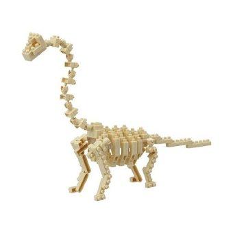 Nanoblock Brachiosaurus Skeleton Block