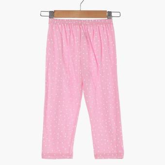 Nap Baby Girls Good Night Pajama Set (Pink) - 4