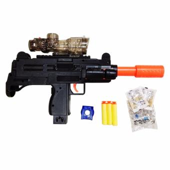 Nerf M35 D7 Toy Shooting Game with LED Light Black - 3