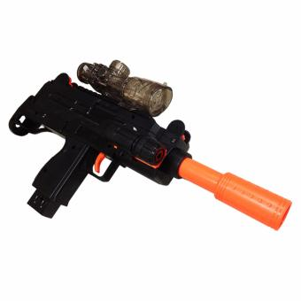 Nerf M35 D7 Toy Shooting Game with LED Light Black - 2