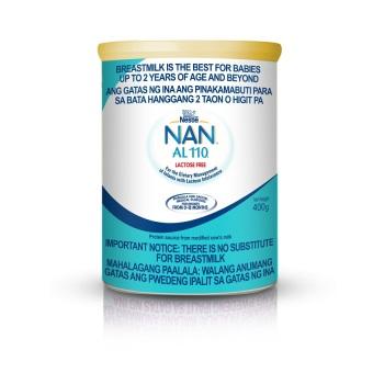Nestle Nan AL110 Lactose Free Infant Milk Formula 400g