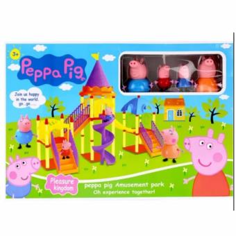 New 2017 Best Store Baby Shop Peppa Pig Kingdom Toy Set