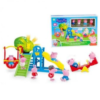 New 2017 Peppa Pig Amusement park Set Toy XZ-361 Price Philippines