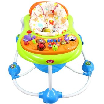 New Bossney Cute Musical Baby Walker Insect Party - 2