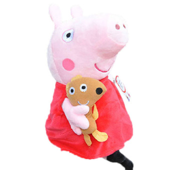 New Peppa Pig Family Stuffed Soft Figures Toy Plush Doll19CM/7.5inch Kids Gift