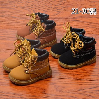 New season shoes children shoes for boys for girl Martin boots boots - intl - 2