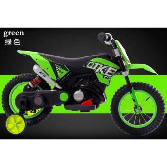New Sporty Motor Bike Ride-on Bike for Kids, Boys and Girls WithMusic and Lights (Green)