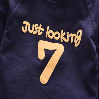 New Spring Cotton Baby Boy Clothing Long Sleeve T Shirts + PantsInfant Boys Sets Kids Clothes Tracksuits For NewbornChildren1-4Years Old Boys - intl - 3