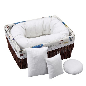 Newborn Baby Photography Wheat Donut Posing Pillow Basket FillerBaby Photo Prop - intl - 2