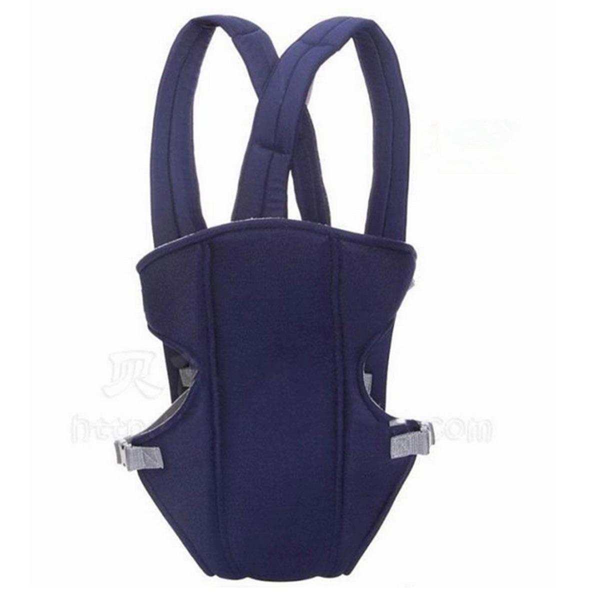 Newborn Kid Infant Baby Carrier Backpack Front Back Rider Sling Comfort Wrap Bag (blue)