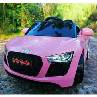NEWEST AUDI SPORT EDITION 6V RIDE CAR FOR KIDS, BOYS AND GIRLS WITHMUSIC, LIGHTS (pink) - 4