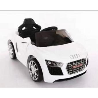 NEWEST AUDI SPORT EDITION 6V RIDE CAR FOR KIDS, BOYS AND GIRLS WITHMUSIC, LIGHTS (white) - 2