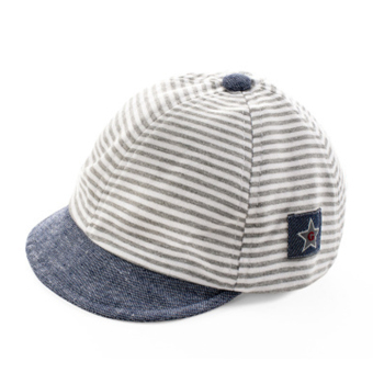 Newest Summer Newborn Baby Hat Kids Cap Infant Baby Hat for Boys and Girls-gray