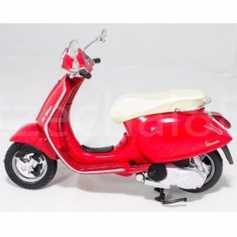 NewRay 1:12 Die-cast Vespa Primavera Scooter Motorcycle Red ColorModel Collection Christmas New Gift(Red) - intl - picture 2