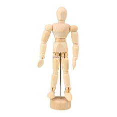 PHP 396. Newworldmall New Gift Funny Toys Adjustable Human Figure Unisex Mannequin Artist Drawing Model ...