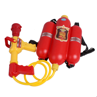 OH Child Fire Backpack Nozzle Water Gun Toy Air Pressure Water Gun Summer Beach - picture 2