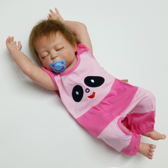 Onesie crawling clothes newborns care belly around the Baobao apron