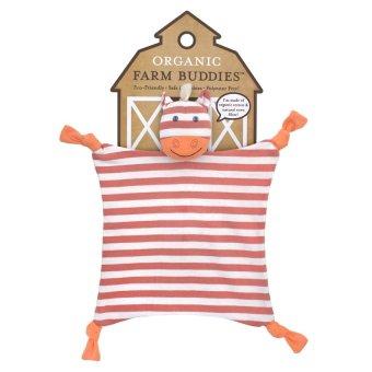 Organic Farm Buddies Poncho the Pony Blanket Red/Orange - picture 3
