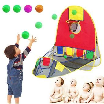 PAlight Kids Toy House Basketball Tent Beach Lawn Ball Pool - intl